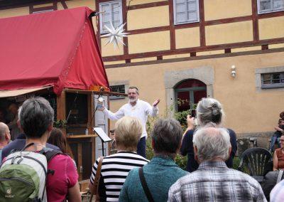 Eroeffnung der Hofbrauerei Lohmen auf dem Gelaende der Hofkultur Lohmen, Basteistrasse 80, zum Steinbrecherfest in Lohmen in Sachsen.