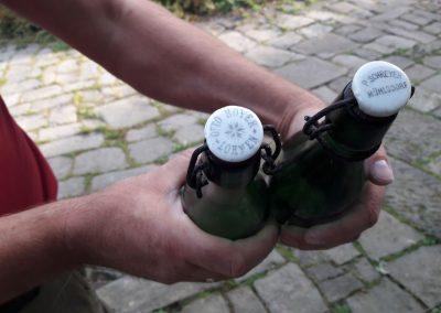 historische Flaschen